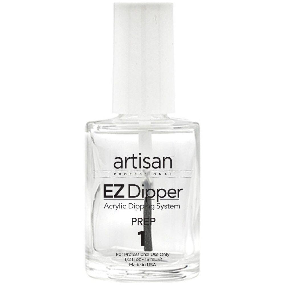 EZ Dipper Nail Prep Dehydrator - Step #1 - A Bond Aid Agent - 0.5 oz ...