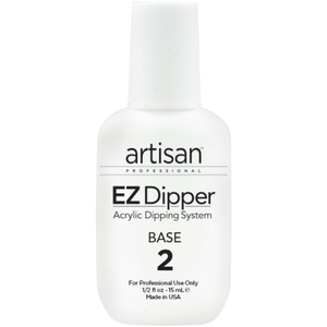 Artisan EZ Dipper Nail Base Resin - Step #2 - Maximum Strength - Superior Adhesion - 0.5 oz. (14.79 mL.) (139020)