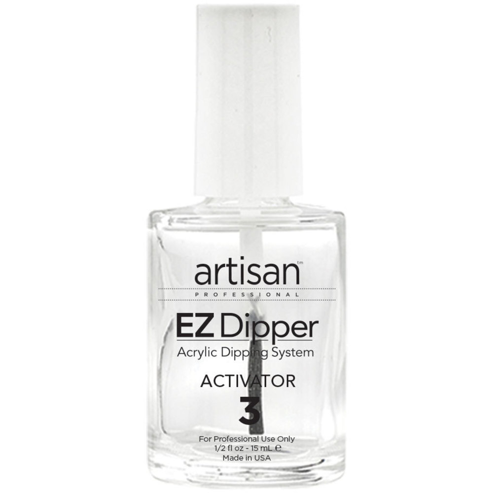 Artisan EZ Dipper Nail Activator - Step #3 - Instantly Dries Nail ...