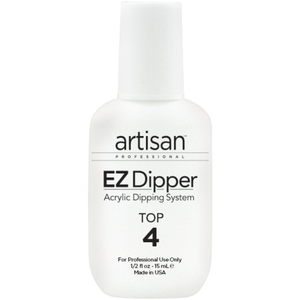 Artisan EZ Dipper Nail Top Resin - Step #4 - Smoother - Stronger - 0.5 oz. (14.79 mL.) (139024)