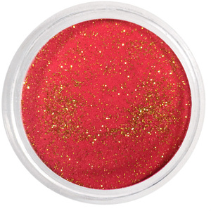 Artisan EZ Dipper Colored Acrylic Nail Dipping Powder - Red Candy Cane 1 oz. (28.35 grams) (139070)