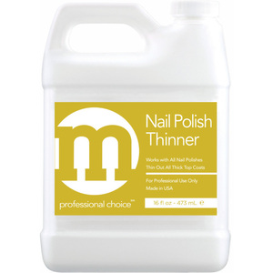 M Professional Choice - Nail Polish Thinner - Restores Proper Consistency 16 oz. (473.18 mL.) (228000)