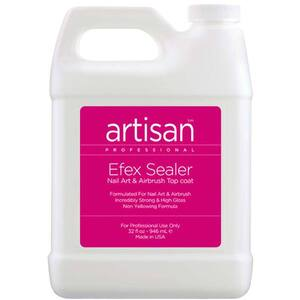 Artisan Efex Sealer Nail Art & Airbrush Top Coat - Seals & Protects - 32 oz (946 mL.) (229013)