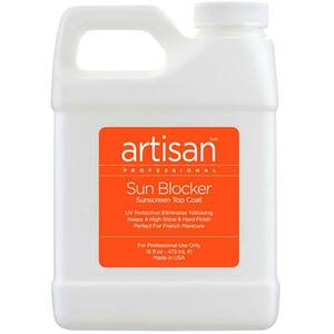 Artisan SunBlocker Sunscreen Top Coat - Guaranteed Non Yellowing - 16 oz (473 mL.) (229016)
