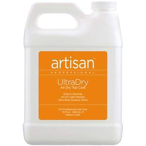 Artisan UltraDry Air Dry Top Coat - No Chip & Non Yellowing Formula - 32 oz (946 mL.) (229025)