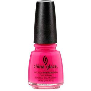 China Glaze Nail Polish - Shocking Pink - 0.5 oz (14 mL.) (240293)
