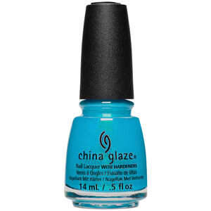 China Glaze Nail Polish - Mer-Made For Bluer Water - 0.5 oz (14.79 mL.) (244199)