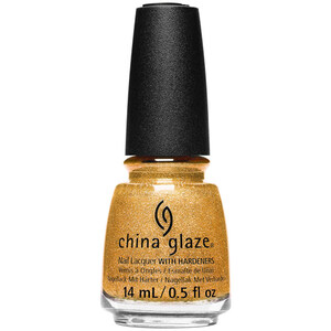 China Glaze Nail Polish - Gold Mine Your Business 0.5 oz (14.79 mL.) (244711)