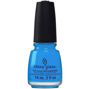 China Glaze Nail Polish - DJ Blue My Mind - 0.5 oz (14 mL.) (248606)