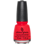China Glaze Nail Polish - The Heat Is On - 12 oz (14 mL.) (248653)