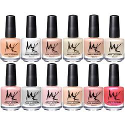 MK Nail Polish - Sweet Whispers Collection - Set of 12 pieces (260907)