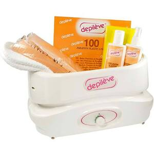 Depileve Paraffin Warmer Professional Kit - Heavy Duty for Salon & Spa - Kit (310008)