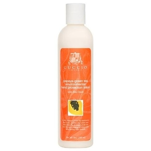 Cuccio Papaya Green Tea Environmental Hand Protection Lotion 8 oz. (310030)