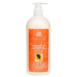 Cuccio Papaya Green Tea Environmental Hand Protection Lotion 32 oz. (310031)