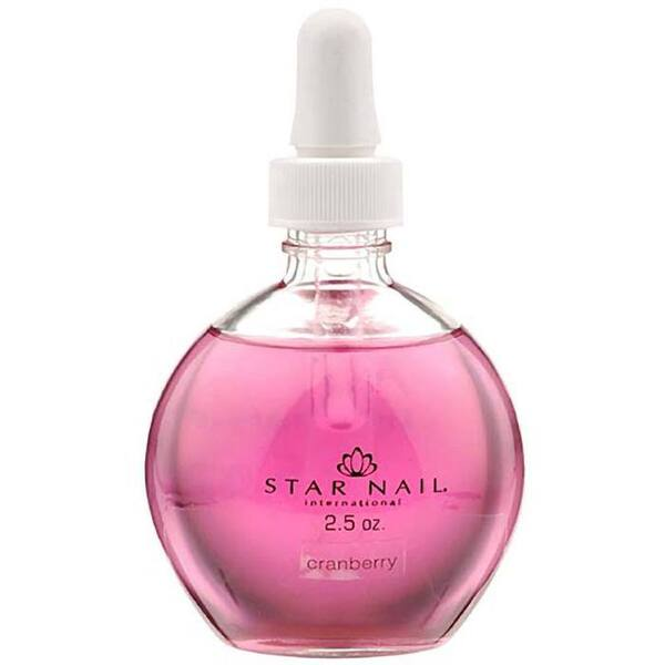 StarNail Scented Cuticle Oil - Cranberry - 2.5 oz (73.94 ml) (310047)
