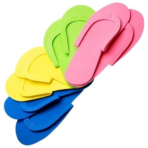 Sewed Strap Reusable Pedicure Slipper (320013)