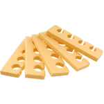 Pedicure Toe Separators - Premium Quality - Pastel Orange Case of 360 Pairs (320146)