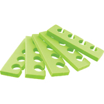 Pedicure Toe Separators - Premium Quality - Lime Green - Case of 360 Pairs (320156)