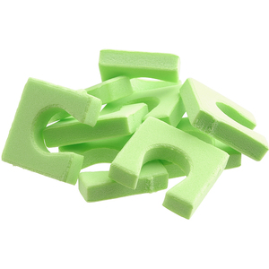 Toe Separators - Single Toesies For Pedicures - Green 144 Pieces (320161)