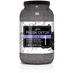 Gena Spa Pedicure Foot Soak - Detox Black Charcoal 1 Gallon - 3.79 Liters (320170)