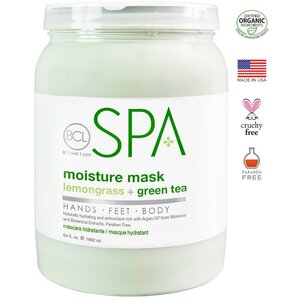BCL Spa Pedicure Mask - Lemongrass & Green Tea 64 oz. (320303)