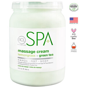 BCL Spa Body & Massage Lotion - Lemongrass & Green Tea 64 oz. (320304)