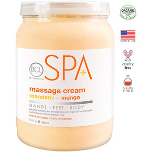 BCL Spa Body & Massage Lotion - Mandarin & Mango 64 oz. (320309)