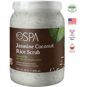 BCL Spa Pedicure Scrub - Jasmine & Coconut 64 oz. (320312)