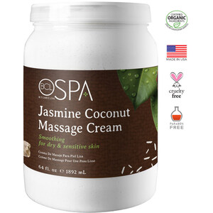 BCL Spa Body & Massage Lotion - Jasmine & Coconut 64 oz. (320314)