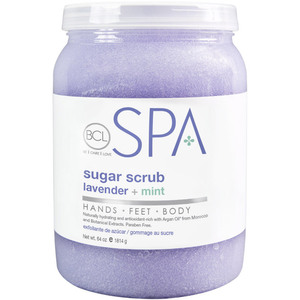 BCL Spa Pedicure Scrub - Lavender & Mint 64 oz. (320317)