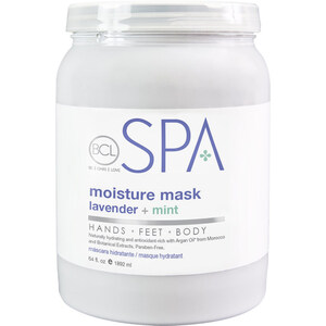 BCL Spa Pedicure Mask - Lavender & Mint 64 oz. (320318)