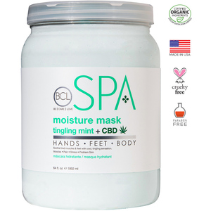 BCL Spa Pedicure Mask - Tingling Mint & CBD 64 oz. (320323)