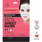 BCL Illuminating Grapefruit Face Mask Sheet - For Dull Dry Skin  Pack of 6 (340303)