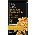 BCL 24K Peel Off Gold Face Mask - Collagen + Retinol 5 Single Use Masks (340304)