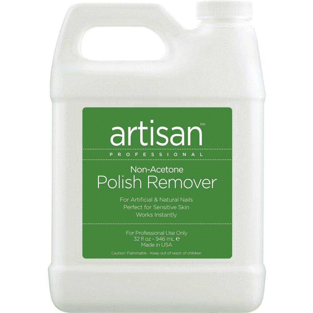 Artisan Non-Acetone Nail Polish Remover - 100% Acetone Free ...