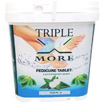 Triple X More Sanitizing Pedicure Tablets - Peppermint - 2500 Pieces (420100)