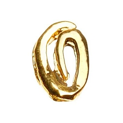 "Gold Nail Charms - ""O"" Character Pack 20-Count (520015)"