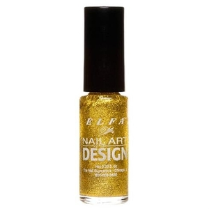 Elfa Nail Art Design - Gold Glitter 0.25 oz. (520083)