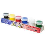 Water Based Nail Art Hand Paint Pack of 6 (520090)