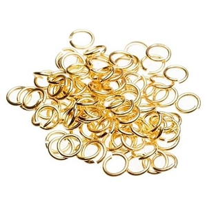 Nail Ring - Gold 100-Count (520110)