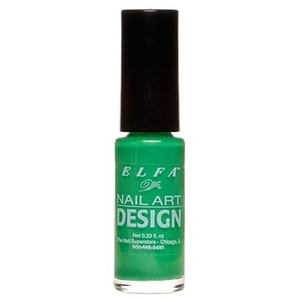 Elfa Nail Art Design - Green 0.25 oz. (520122)