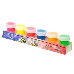 Water Based Nail Art Hand Paint Pack of 6 (520137)