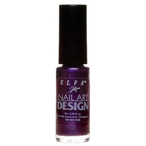 Elfa Nail Art Design - Dark Purple Frost 0.25 oz. (520145)