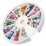 Nail Art Rhinestone Kit - Star Shape 1200-Count (520148)