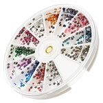 Nail Art Rhinestone Kit - Flower Shape 1200-Count (520150)