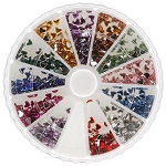 Nail Art Rhinestone Kit - Heart Shape 1200-Count (520153)