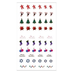 Holiday Series Nail Art Decal Christmas #1 (520178)