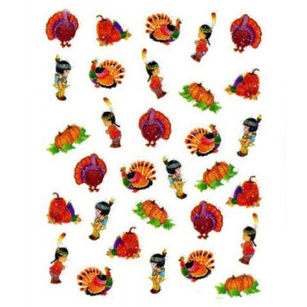 Nail Sticker Thanksgiving - Each (520215)