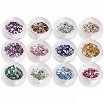 Rhinestone Nail Art Kit - Tear Drop Shape Pack of 1200 (520260)