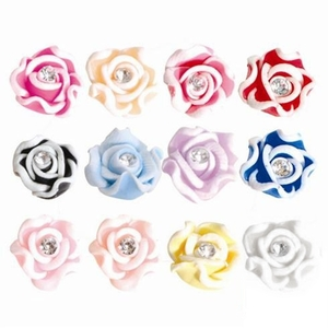 Nail Art Special Effect - 3D Flower Kit - 60 Pieces (520261)